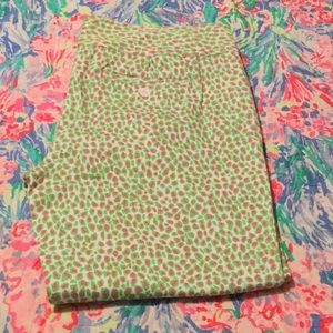 Lilly Pulitzer Capris Size 10
